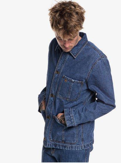 Quiksilver Mens Rad Trad Denim Jacket