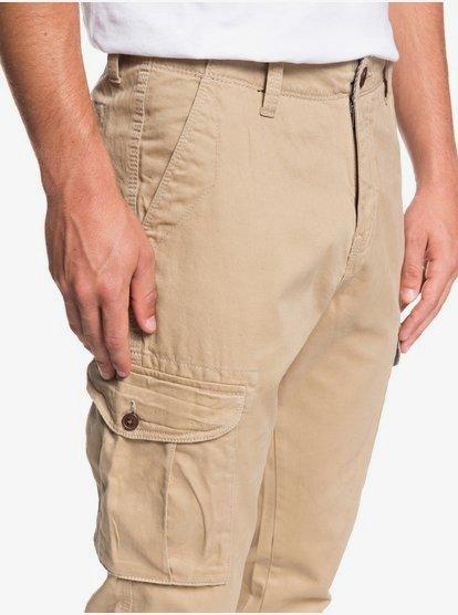Quiksilver cruciale Pantaloni Cargo-Plage tutte le taglie