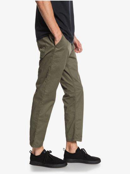 Fatigue Pantalones Elasticos Con Longitud Hasta El Tobillo Para Hombre Eqynp03181 Quiksilver