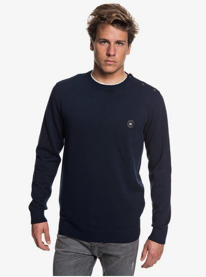 Shadow Marin Pull col rond pour Homme EQYSW03228 | Quiksilver