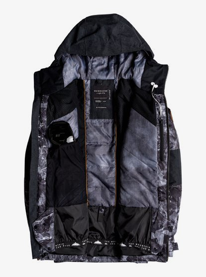 Quiksilver Mens JK Arrow Wood Snow Jacket QISS5 ARROW WOOD JK Quiksilver EQYTJ03118 Men