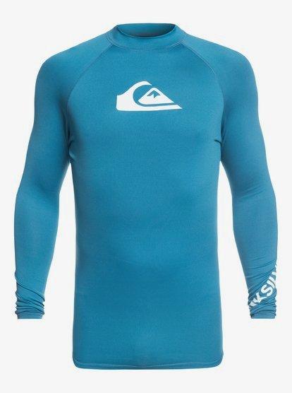 Quiksilver Mens All Time Ls Long Sleeve Rashguard Surf Shirt