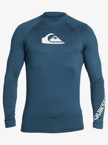 Quiksilver Mens Salty Dog Short Sleeve Rashguard UPF 50 Sun Protection