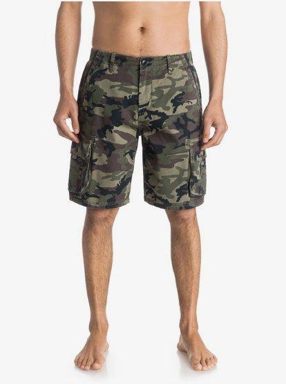 Everyday Deluxe 21 Pantalones Cortos Tipo Militar Eqyws03250 Quiksilver
