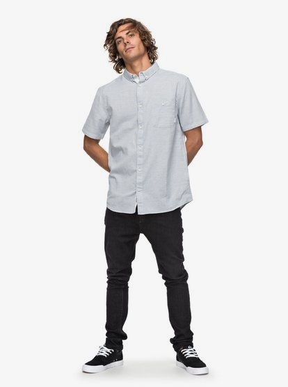 Sleet Quiksilver Mens Waterfalls Short Sleeve Update L