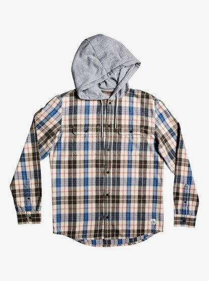 Quiksilver Boys Hooded Tang Kids Woven Top