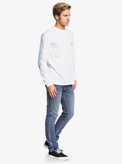 Daily Wax T shirt manches longues pour Homme EQYZT05507