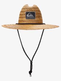 Waterman The Tier - Straw Lifeguard Hat for Men  AQMHA03129
