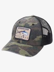 Waterman Gaff Rider - Trucker Cap for Men  AQMHA03141