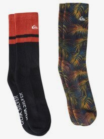 Palm Print - Crew Socks for Men  AQYAA03261