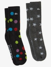 Polka Dot - Crew Socks for Men  AQYAA03263