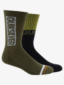 2 Pack Jacquard - Crew Socks AQYAA03293