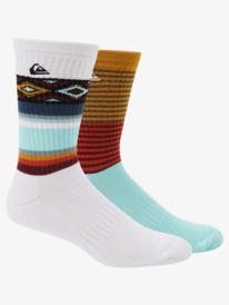 2 Pack Jacquard - Crew Socks  AQYAA03295