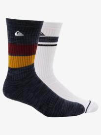 2 Pack Jacquard - Crew Socks  AQYAA03298