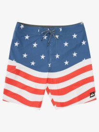 """Americana 20"""" - Recycled Board Shorts for Men  AQYBS03530"""