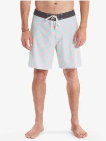 "Checker 18"" - Recycled Board Shorts for Men  AQYBS03535"