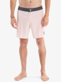 "Solid Snap 17"" - Recycled Board Shorts for Men  AQYBS03536"