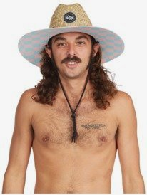 Outsider Echo Beach - Straw Lifeguard Hat for Men  AQYHA04998