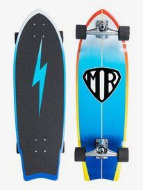 "Super Twin 9.5"" - Surfskate Skateboard  EGL21MRSWH"