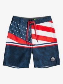 """Everyday Boardwalk 17"""" - Recycled Board Shorts for Boys 8-16  EQBBS03581"""