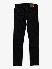 Killing Zone Black Black - Skinny Fit Jeans for Boys 8-16  EQBDP03166