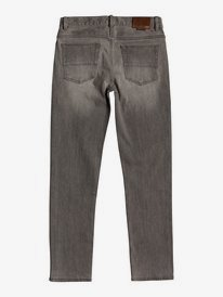 Modern Wave Grey - Straight Fit Jeans for Boys 8-16  EQBDP03169