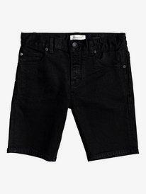 Killing Zone Black Black - Denim Shorts  EQBDS03062