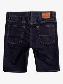 Modern Flave Rinse - Denim Shorts for Boys 8-16  EQBDS03063