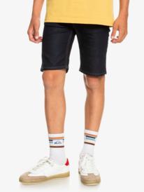 Modern Flave Rinse - Denim Shorts for Boys 8-16  EQBDS03063