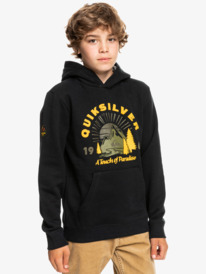 Big Logo Snow - Water Repellent Hoodie for Boys  EQBFT03698