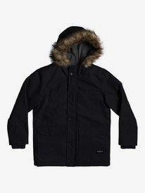 Storm Drop 5K - Water-Resistant Parka for Boys 8-16  EQBJK03197