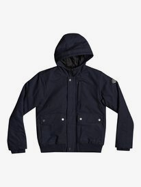 New Brooks - Water-Resistant Hooded Jacket for Boys 8-16  EQBJK03199