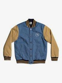 Radicals Log - Varsity Jacket for Boys 8-16  EQBJK03204