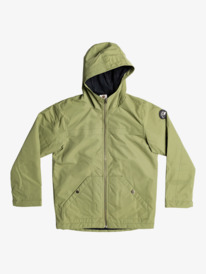 Waiting Period - Water Resistant Parka Jacket for Boys  EQBJK03236