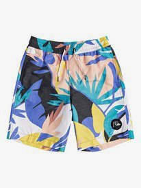 "No Destination 16"" - Swim Shorts for Boys 8-16  EQBJV03258"