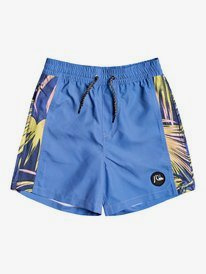 "Arch Print 14"" - Swim Shorts for Boys 8-16  EQBJV03299"