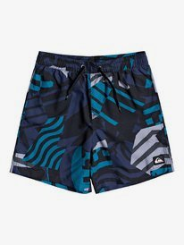 "Neo Geo 14"" - Swim Shorts for Boys 8-16  EQBJV03303"