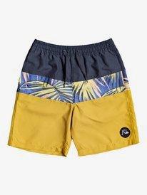 """Sub Tropics 17"""" - Swim Shorts for Boys 8-16  EQBJV03306"""