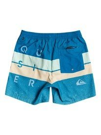 "Word Block 15"" - Swim Shorts for Boys 8-16  EQBJV03337"