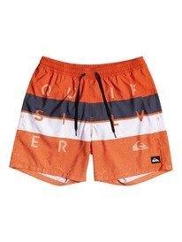 """Word Block 15"""" - Swim Shorts for Boys 8-16  EQBJV03337"""