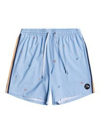 "Yacht Rock 14"" - Swim Shorts for Boys 8-16  EQBJV03343"