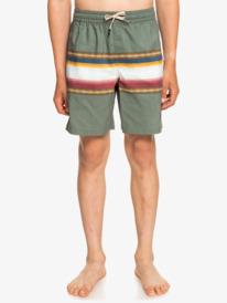 "Sun Faded 15"" - Recycled Swim Shorts for Boys 8-16  EQBJV03362"