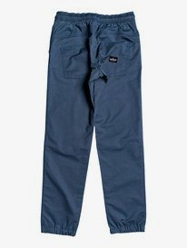 Mushy Rush - Elasticated Twill Trousers for Boys 8-16  EQBNP03098