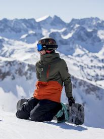 Mission Solid - Snow Jacket for Boys 8-16  EQBTJ03118