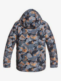 Mission Printed - Snow Jacket for Boys 8-16  EQBTJ03120