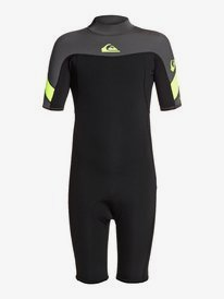 2/2mm Syncro - Short Sleeve Back Zip Springsuit for Boys 8-16  EQBW503014