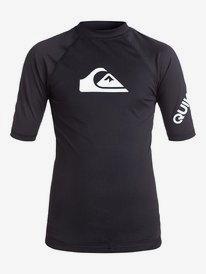 All Time - Short Sleeve UPF 50 Rash Vest for Boys 8-16  EQBWR03006