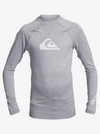 All Time - Long Sleeve UPF 50 Rash Vest for Boys 8-16  EQBWR03128