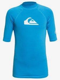 All Time - Short Sleeve UPF 50 Rash Vest for Boys 8-16  EQBWR03136