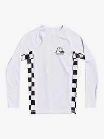 Check This - Long Sleeve UPF 50 Rash Vest for Boys 8-16  EQBWR03157